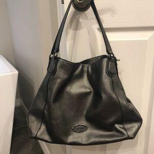 Metallic Coach handbag!